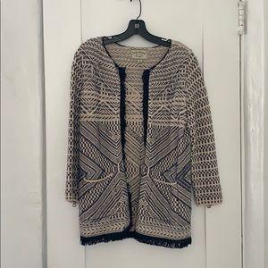 Beautiful tweed Lucky Brand blazer/coat